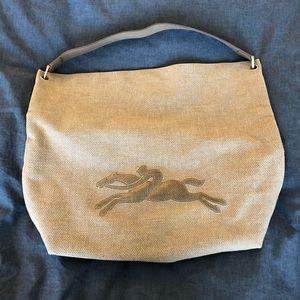 Longchamp Tweed hobo bag